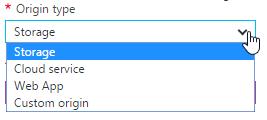 Podporované služby pro Azure CDN