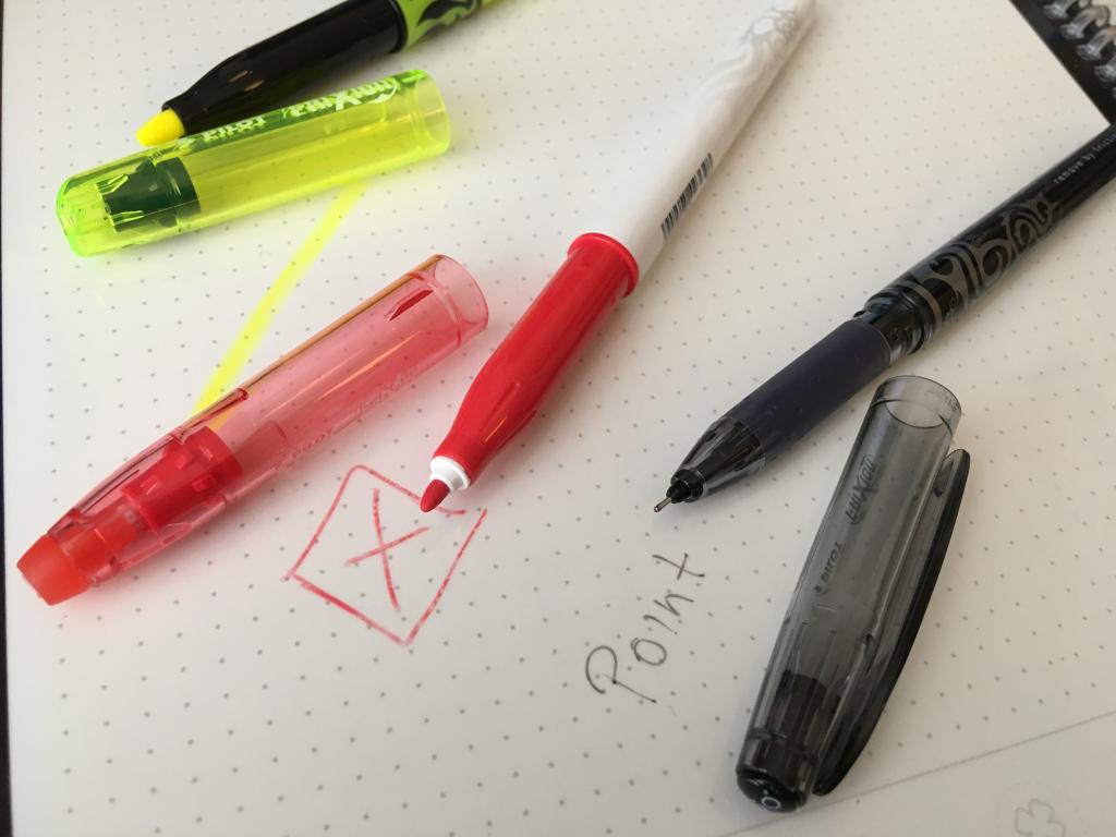 psací potřeby k rocketbooku