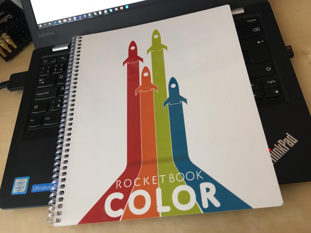 rocketbook kniha
